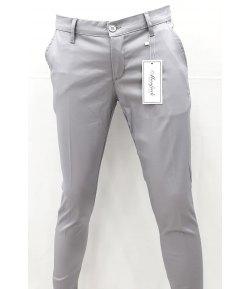 Pantalone Uomo/Ragazzo Manfredi Slim Elasticizzato Cerimonia Casual