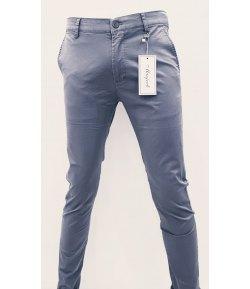 Pantalone Uomo/Ragazzo Manfredi Slim Elasticizzato Colore,Grigio