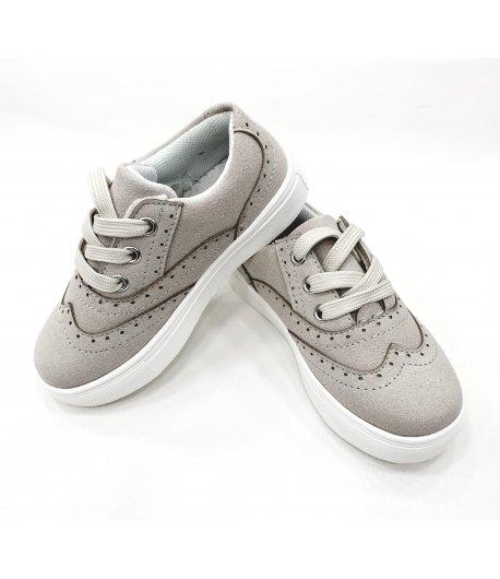 Scarpe Sneakers Baby Gdo In Ecopelle Scamosciata