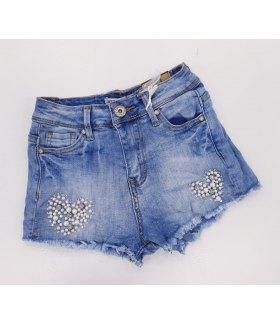 Shorts di Jeans Bimba Marca Ativo