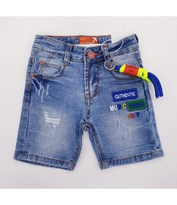 Shorts di Jeans Bimba Marca Small Gang