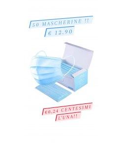 Mascherine Chirurgiche 50 pcz